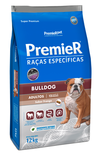 PremieR Raças Específicas Bulldog Cães Adultos